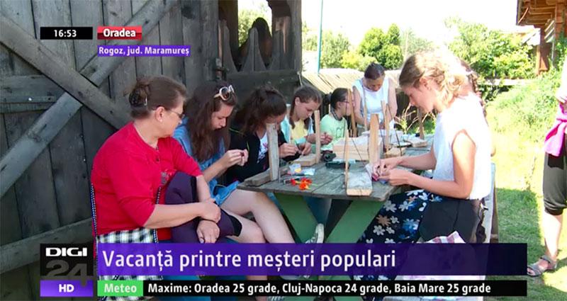 Vacanță petrecută printre meșteri populari in Maramureș
