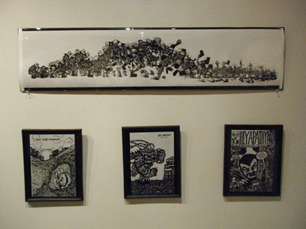 Comic Book Drawings Exhibition Heyapathy Surreal