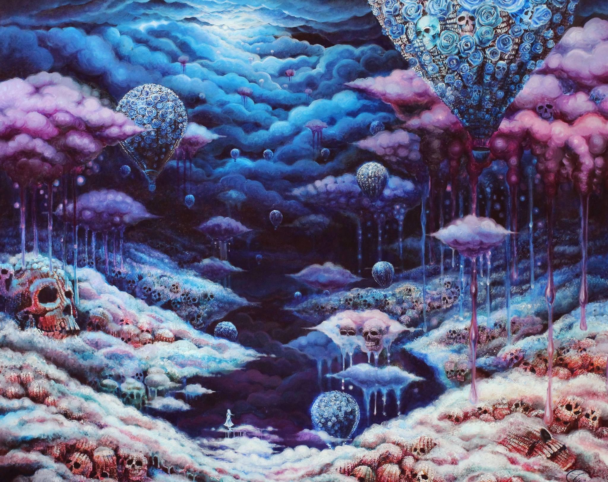 Tien dark pop-surrealism