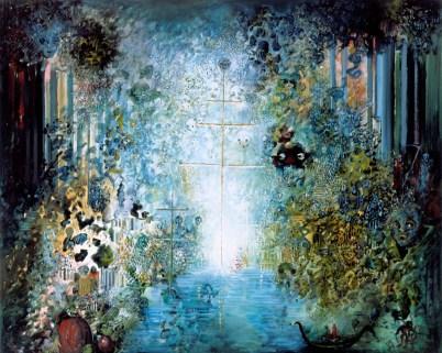 Les Mâts du Bateau Invisible (2006) 130x162