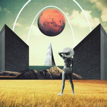 Trash Riot Collage Art