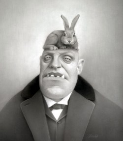 Travis Louie - Kruger and his Attack Rabbit