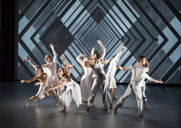 BalletX dancers > choreography by Matthew Neenan > photo by Alexander Iziliaev