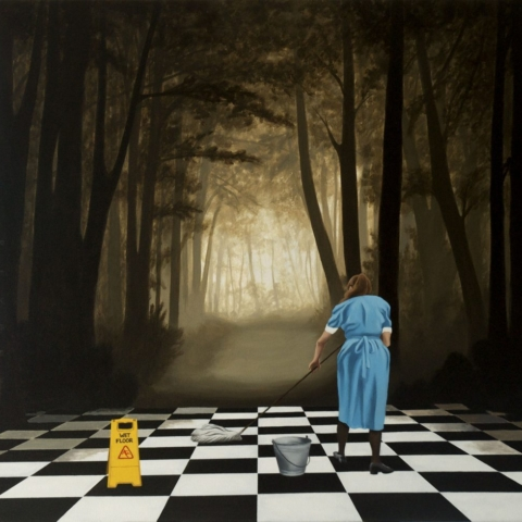 Robert Deyber Painting