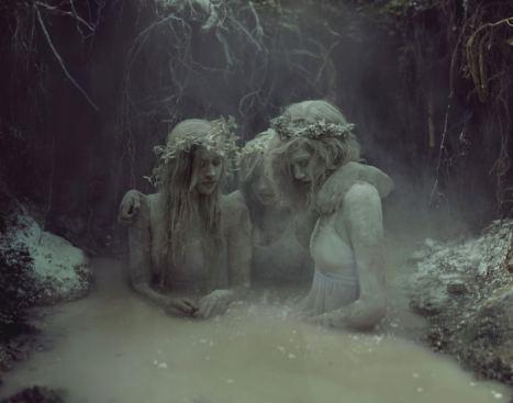 Kyle Thompson - Surreal Photography - Graveyard Girls