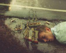 Kyle Thompson - Surreal Photography - Sinking Captain (2012)