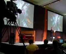 Scott Draves speaking at TEDx in Hungary, 2010.06.