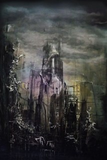 Dark Tower - 122cm x 84cm