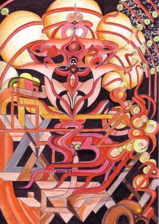Andy Schmitz - Surreal Drawing 4