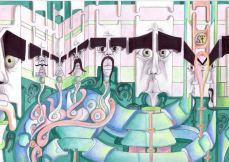 Andy Schmitz - Surreal Drawing 6