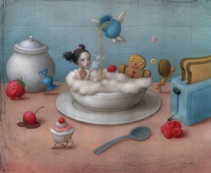 Eat me, drink me by Nicoletta Ceccoli