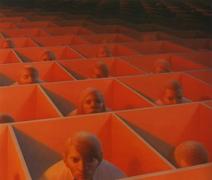 George Clair Tooker 1920-2011 - American Magic Realist painter - 12