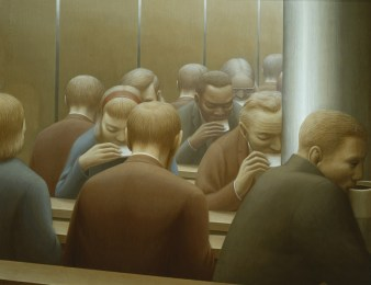 George Clair Tooker 1920-2011 - American Magic Realist painter - 6