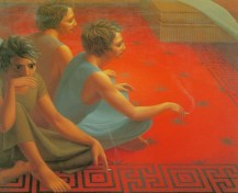 George Clair Tooker 1920-2011 - American Magic Realist painter - 7