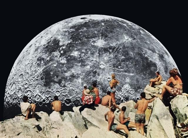 Moonrise - by Beth Hoeckel