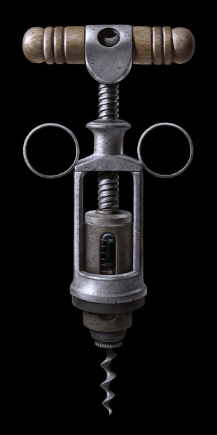 Corkscrew Syringe
