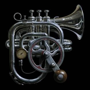 Hand Crank Trumpet