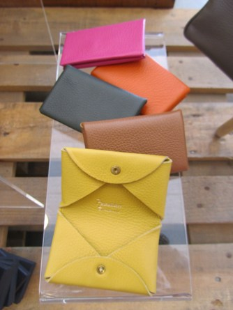 Minuterie Namecard Holders in lovely summer colours