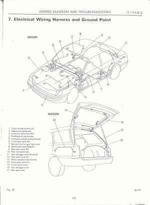 95 Subaru Impreza Wiring Harness  Wiring Diagram