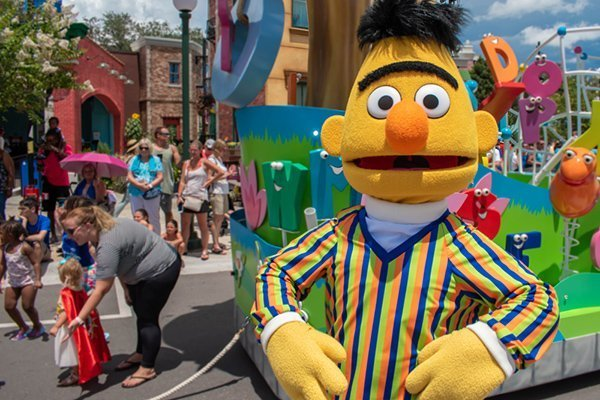 Picture of BERT from Sesame Street
