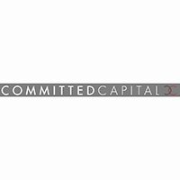 Commited Capital Full Red & Grey Logo