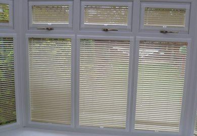 Bay Window Wood Blinds
