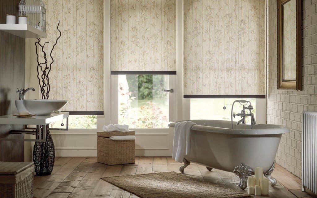 Bathroom Blinds  Surrey Blinds  Shutters