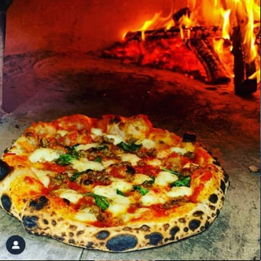 Woode fire pizza