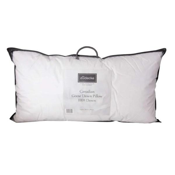 Die Zudecke Canadian Goose Down Kingsize Pillow