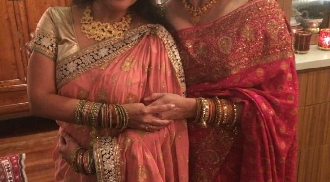 Radhika's Apple and Thuvaiyal on Baguette