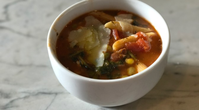 Mixed Vegetable Minestrone Soup