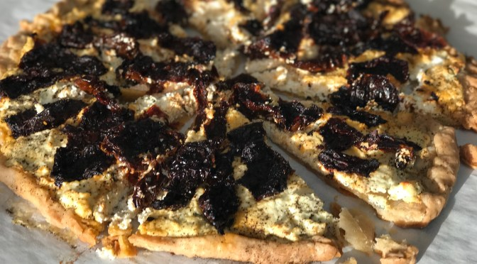 Goat Cheese Tart with Sundried Tomatoes
