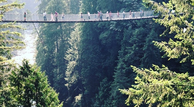 Capilano Suspension Bridge Park. Vancouver, Canada