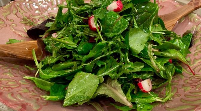 Super Greens Salad with Beets and Radish