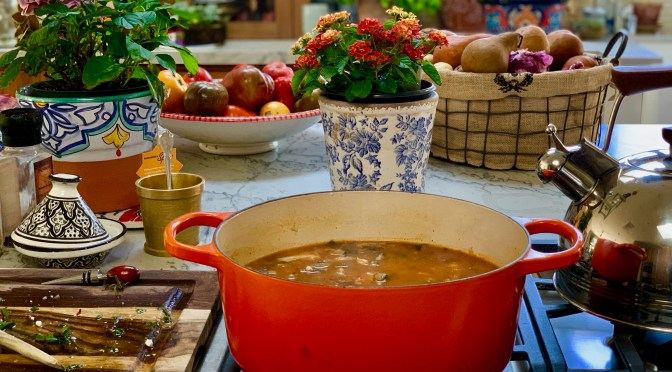 End of Summer Minestrone Soup