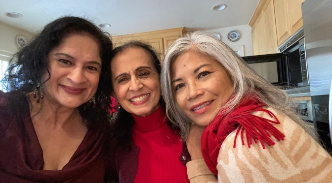 Holiday Lunch with Devi, Del & Rose 2019