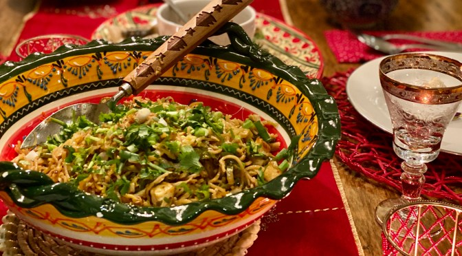 Cabbage Shishito Pepper Stir Fry Noodles