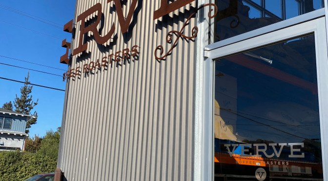 Verve Coffee Roasters in Santa Cruz, California