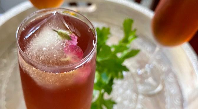 Rosé Lime Watermelon Cocktail