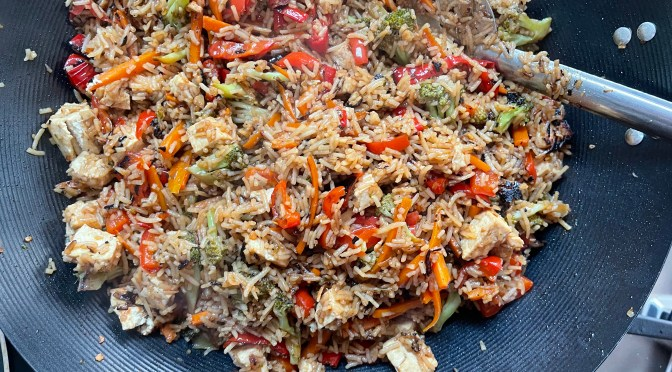 Loaded Veggie Fried Rice