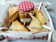 Home made scones and jam
