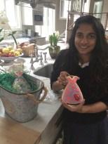 Our fashionista Rani got a dress figolla