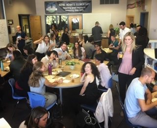 Welcome lunch for UBC teacher candidates