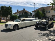 Vintage Car & Limousine Hire Weddings.
