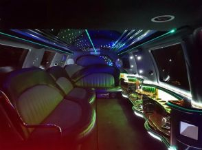 Ford Excursion Black Interior - Limo Hire London