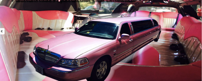 Pink Lincoln Limo Hire London | Surrey | Kent | Hampshire | Essex | Hertfordshire