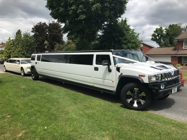 Hummer Limousine Hire - Recent Wedding