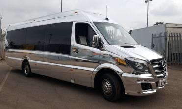 16 Seater Party Bus Hire London : Surrey : Kent : Hertfordshire