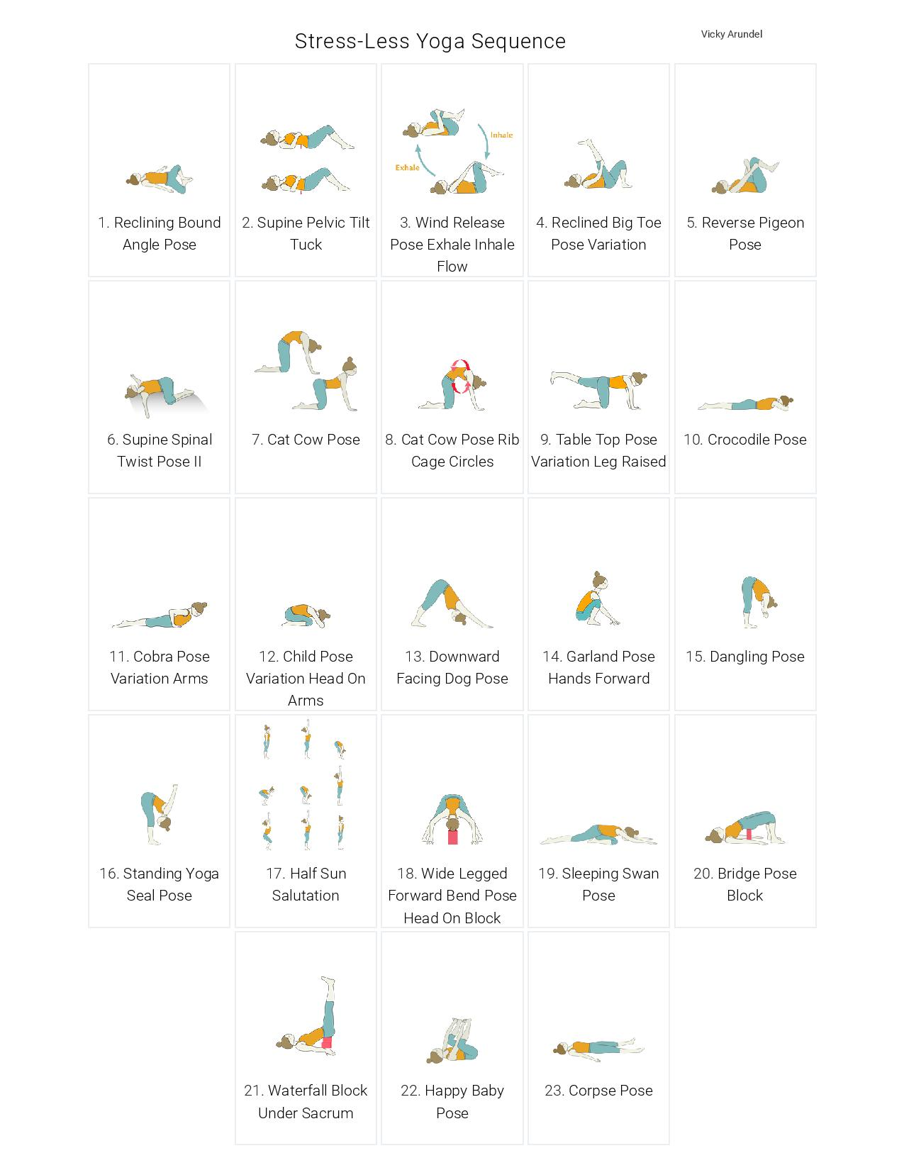 A Yoga Sequence To Reduce Stress
