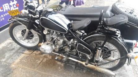 Boxer Motorcycle Engine Side - 水平对卧引擎偏三轮摩托车